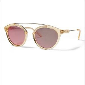 Westward Leaning gold flower sunglasses